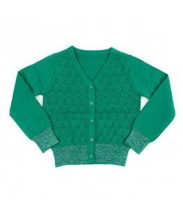 Knit Cardigan Nette Emerald - Lily Balou