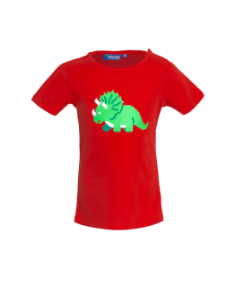 T-shirt Dinoba Red - Someone