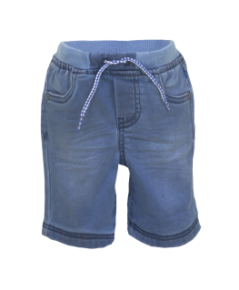 Jeansshort Scoba Denim Blue - Someone