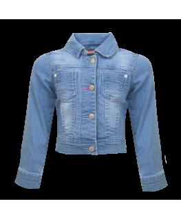 Jeans jasje bow - Someone