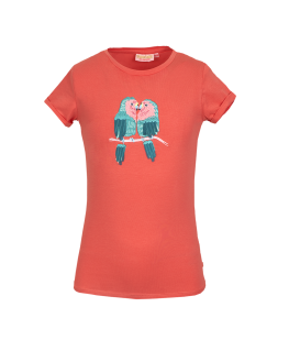 Dames T-shirt Laisa Turquoise - Tranquillo