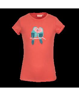 Dames T-shirt Laisa Turquoise - Tranquillo