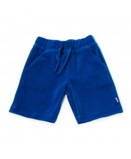 Shorts cool blue velour - Froy & Dind