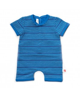 Combishort baby stripes blue  - Froy & Dind