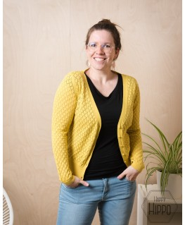 Cardigan Gerdy Sulpher - Froy & Dind