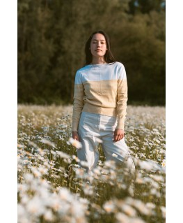 Blauwe Baggybroek - More Than a Fling (DUNS)