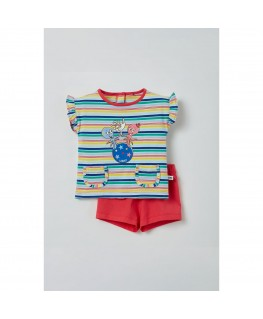 Meisjes pyjama octopus multicolor - Woody