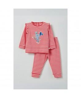 Meisjes pyjama octopus - Woody