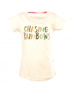 T-shirt Camille chasing rainbows - Stones And Bones