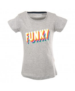 T-shirt Camille Funky Grey - Stones And Bones