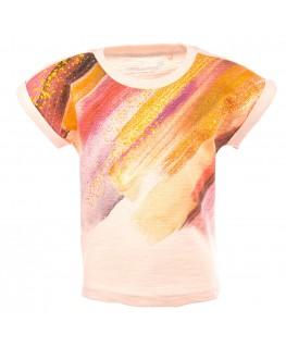T-shirt Loretta Colors Pink - Stones And Bones