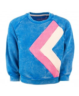 Sweater Odessa Victory Azure - Stones And Bones