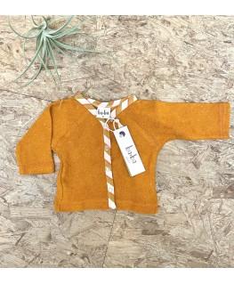 Raglan shirt Hawaian sunset terry - ba*ba kidswear