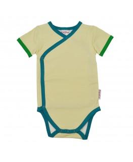 Wrap body short sleeves Anise flower S21 - ba*ba kidswear