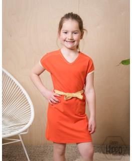 Vneck dress Tomato cherry - ba*ba kidswear