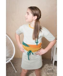 Blanche dress Cactus - ba*ba kidswear