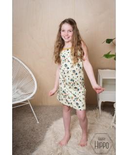Billie dress Flower field - ba*ba kidswear
