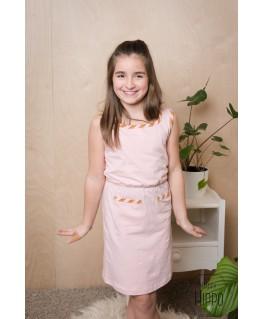 Billie dress Peach - ba*ba kidswear