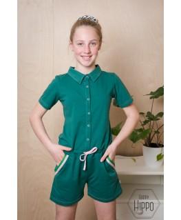 Bella Jumpshort Evergreen - ba*ba kidswear