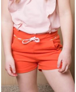 Girls short Cherry tomato - ba*ba kidswear