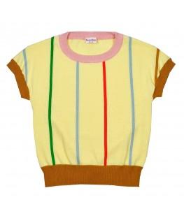Brielle knitshirt Anise flower S21 - ba*ba kidswear