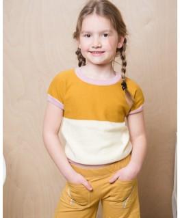 Brielle knitshirt Chai tea - ba*ba kidswear