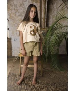 T-shirt AM.Hippie.01 Pebble - Ammehoela