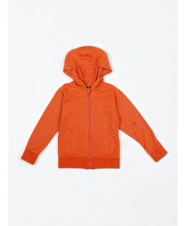 Hoodie French Terry fiesta red - Mundo Melocotón