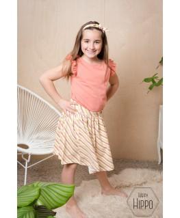 Isadora Skirt sorbet - Lily Balou
