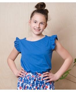 Eline Top dazzling blue - Lily Balou