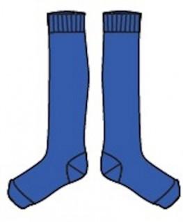 Jordan Kneesocks Dazzling Blue - Lily Balou