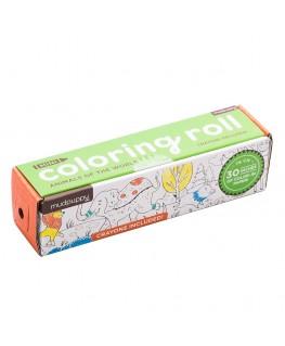 Coloring Roll / Animals the world - +3j - Mudpuppy