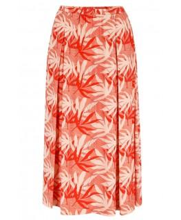 Chiara Skirt palm-leaves - Lily Balou