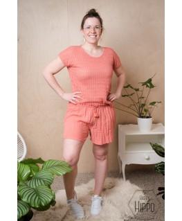Nanou Shorts dames crabapple - Lily Balou
