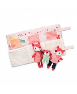 Set van minipersonages - Het gezin van Alice het vosje - Lilliputiens
