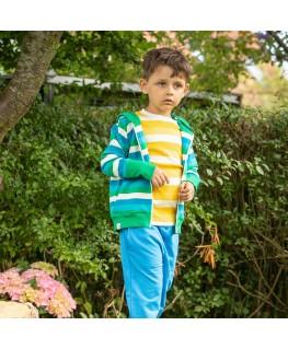 Baby pyjama jadegroen panter - Woody