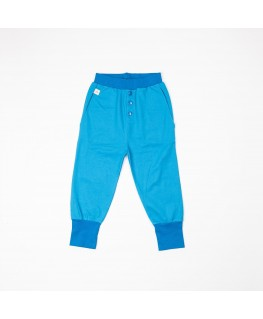 Button Pants Brilliant blue - Albababy