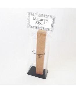 Memory shelf met hartje + Vaasje - By Romi