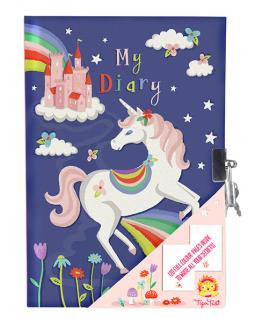 My Diary / Unicorn Rainbows - Tiger Tribe
