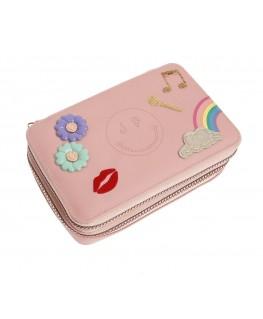 Pencil Box Filled Lady Gadget Pink - Jeune Premier