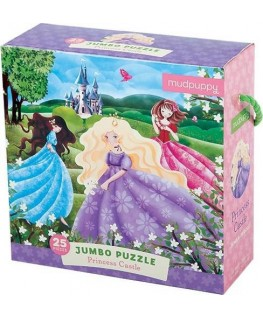 Jumbo Puzzle / Princess Castle +2j - Mudpuppy