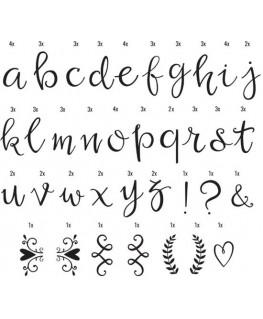 Lightbox letter set: 85 script letters - A Little Lovely Company