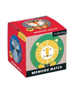 Mini Memory Game / Geometric Animals - Mudpuppy
