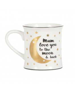 Mum Love You To The Moon And Back Mug - sas&belle