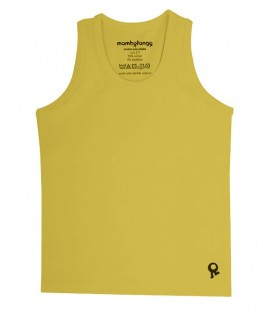 T-Shirt zonder mouwen / Kiwi Groen - Mambotango