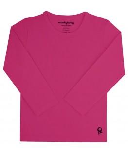T-Shirt lange mouwen / Fuchsia - Mambotango