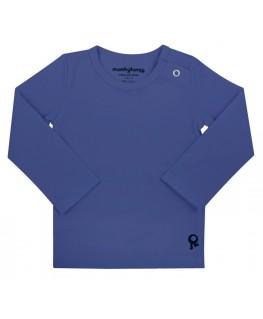 T-Shirt baby lange mouwen / Blauw - Mambotango