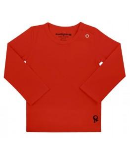 T-Shirt baby lange mouwen / Rood - Mambotango