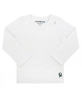 T-Shirt baby lange mouwen / Wit - Mambotango