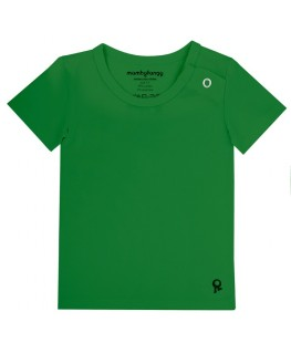 T-Shirt baby korte mouwen / Groen - Mambotango